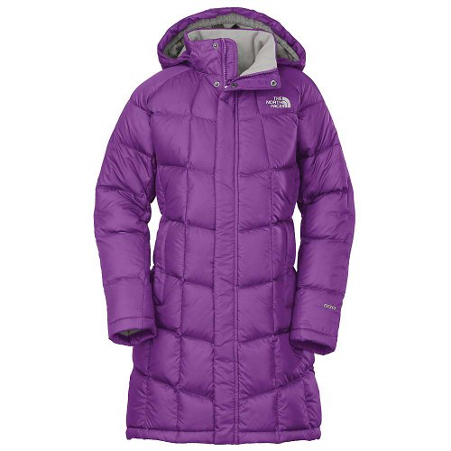 The North Face G Metropolis Parka Jacket Pixie Purple Girls XL by The North Face