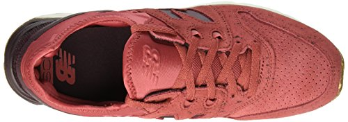 New Balance - D 105 - Couleur: Marron-Rouge - Pointure: 44.0