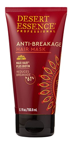 Desert Essence Anti-breakage Hair Mask - 5.1 fl oz - Anti Breakage Formula