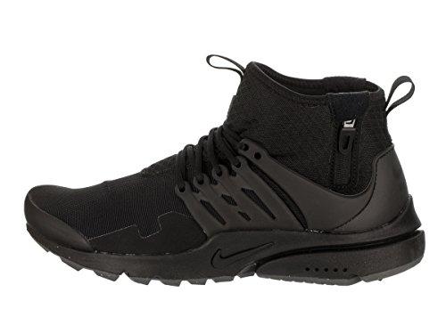 Utility Mid Presto 45 Sneaker Mesh Herren Schwarz NIKE Air IgvqwtBwx