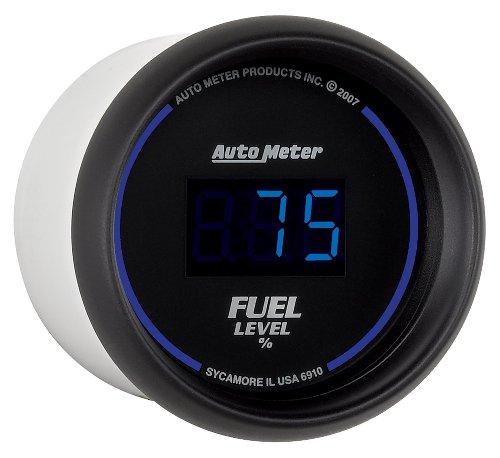 Auto Meter 6910 Cobalt Digital 2-1/16'' 0-280 ohm Digital Fuel Level Programmable Empty - Full Range with Preset by Auto Meter (Image #2)