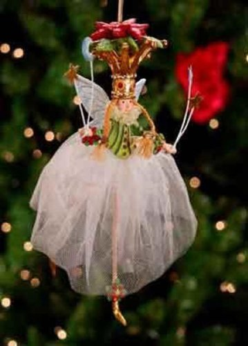 Krinkles Poinsettia - Krinkles Poinsettia Princess Ornament