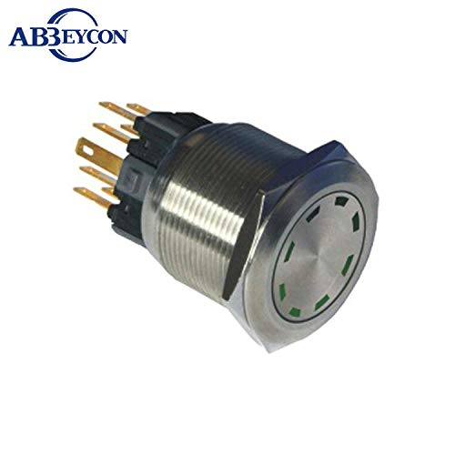 12v bluee led 2504F 25mm LED Water Proof Push Button Switch momentary Waterproof Electric Switch  (color  Others)
