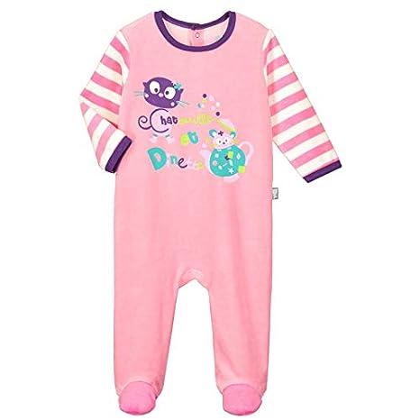 ade42f86272e3 Pyjama velours bébé Dinette - Taille - 3 mois (62 cm)  Amazon.fr ...
