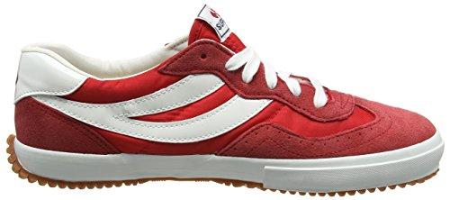 Superga 2832-NYLU Zapatillas de ante, Unisex - Adulto Rojo (Red/White)