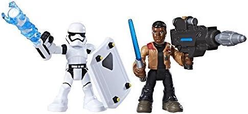 Han Solo Star Wars Galactic Heroes Rey Jakku Finn /& First Order Stormtrooper Figure Bundle Captain Phasma Luke Skywalker