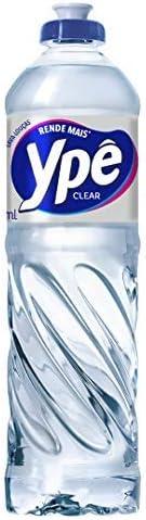 Lava Louças Ypê Clear 500Ml, Ypê, Translucido, 500Ml