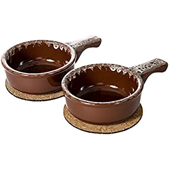 Amazon Com Baking Serving Onion Soup 14 Ounce Bowls With