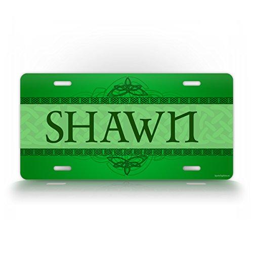 Custom Celtic Irish License Plate Ireland Personalized Gaelic Scottish Auto Tag Aluminum Monogram