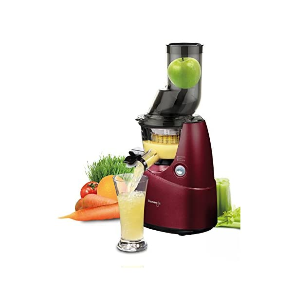 Kuvings KVG BM RD B Whole Slow Juicer Estrattore di Succo, Rosso - 2020 -
