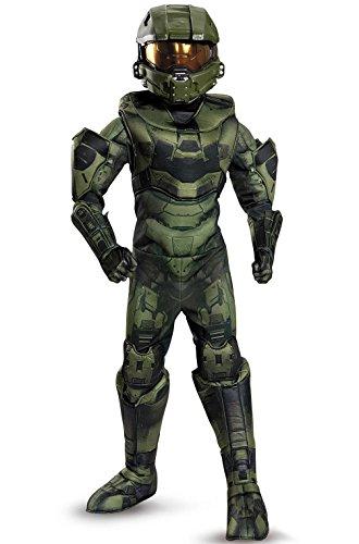 [Mememall Fashion Halo's Master Chief Prestige Child Costume] (Full Halo Costumes)