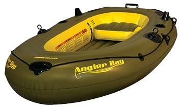 Amazon.com: AIRHEAD Angler Bay - Barco hinchable: Sports ...