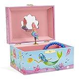 Jewelkeeper Mermaid Musical Jewelry Box, Underwater