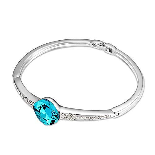 ZhongYi Simple with Diamond Moments Aramid Crystal Bracelet
