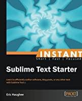 Instant Sublime Text Starter Front Cover