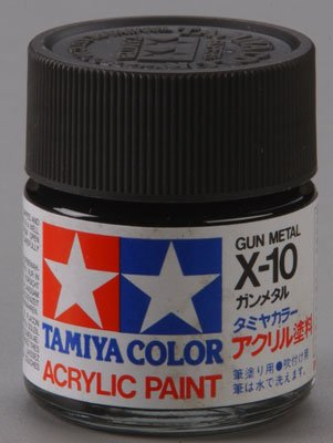 81010 Acrylic X10 Gunmetal 3/4 oz