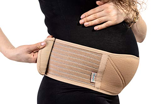 Pregnancy Belt - Maternity Belt - Belly Band for Pregnancy Support - Eases Discomfort During Pregnancy - Pelvic and Back Support