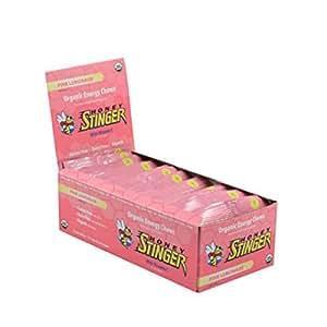 Honey Stinger Organic Energy Chews - Pink Lemonade 12/1.8 oz (50 g) Pkts
