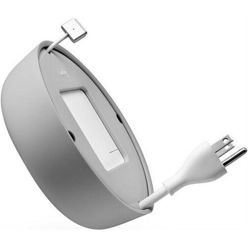 Quirky Pprcp-85gy Powercurl V2 Pop Macbook Power Cord Wrap, Gray
