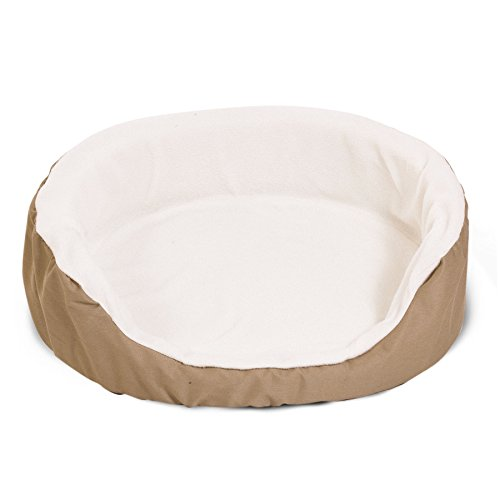 43x28 Khaki Lounger Pet Dog Bed By Majestic Pet Products Extra Large