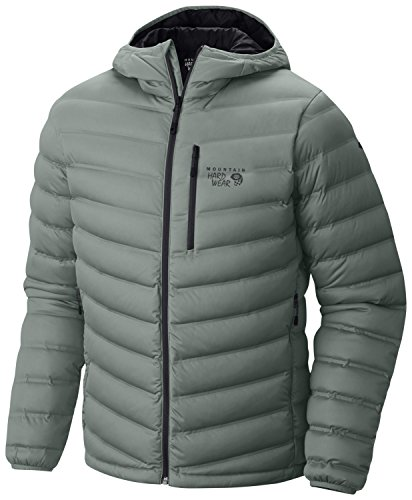Mountain Hardwear StretchDown Hooded Jacket - Men's Thunder Grey ()