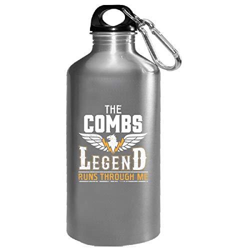 The Combs Legend Runs Through Me - Water Bottle