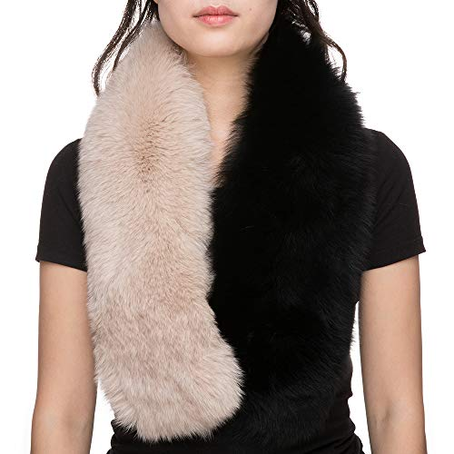 Used, Real Fur Fox Genuine Fur Scarf Winter Shawl Wrap Warm for sale  Delivered anywhere in USA