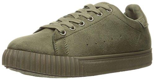 Qupid Kvinners Picton-01 Mote Sneaker Khaki