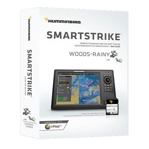 Humminbird 600042-1 SmartStrike Woods-Rainy Map Card
