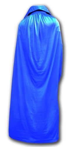 Mexican Lucha libre adult size wrestling cape blue by Luchadora by Luchadora