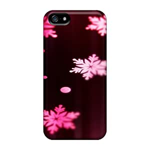 ConnieJCole Snap On Hard Case Cover Violet Stars Protector For Iphone 5/5s