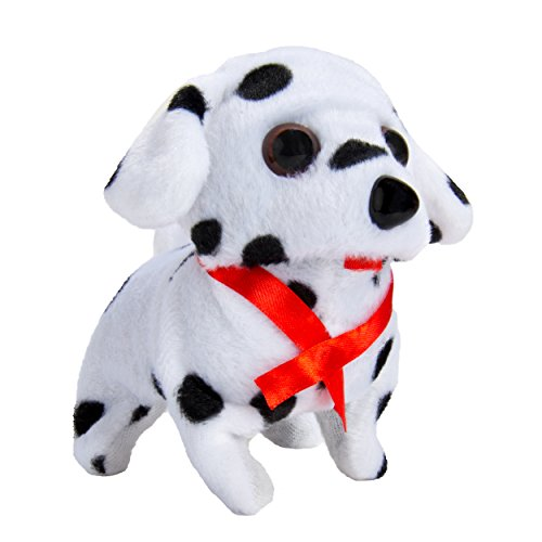 Blue Block Factory Electronic Walking and Barking Plush Puppy Toy, - I Factory Sunglasses