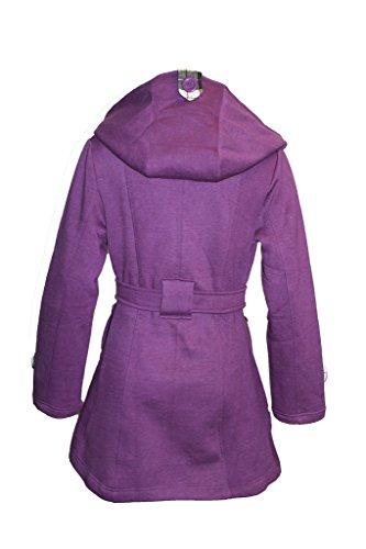 Mac Womens 8 Purple Belted Trench Hooded Coat Fleece Ladies Sizes Jacket 26 wIqCRTxB