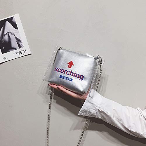 à Bag Package Sac Dames Package à bandoulière Messenger Sac bandoulière épaule Transparent à Sacs WSLMHH Jelly Sauvage Flèche Main zT61x