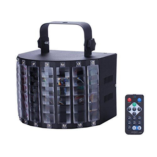 US Plug Projector RGB DJ Disco Light Stage Xmas Party Lighting Show - 9