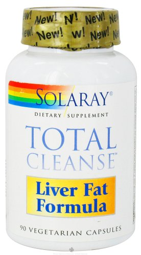 Solaray Total Cleanse, Liver Fat Formula