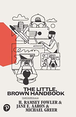Little, Brown Handbook, The (Little Brown