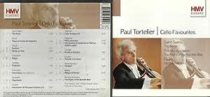Paul Tortelier - Cello Favourites: The Swan The Flight of the Bumbee-Bee, Apres un reve, etc 17 tracks -HMV Classics