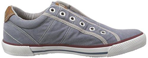 s.Oliver Unisex-Kinder 53203 Low-Top Blau (DENIM 802)