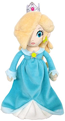 "Sanei Super Mario Series 9"" Princess Rosalina Plush Doll"