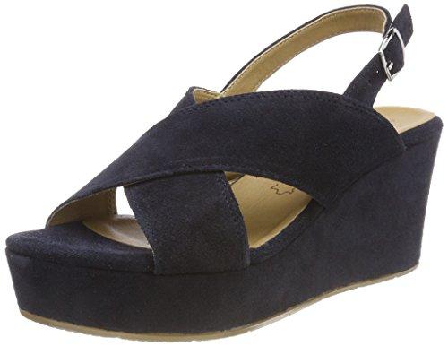 Women's Blue 805 navy Tamaris Sling 28027 Red Sandals Back HS6pqdw7