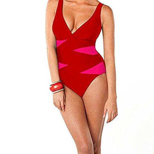 Rose Aerin Swimsuit (Aerin Rose 302-POPP Crisscross Underwire One Piece)