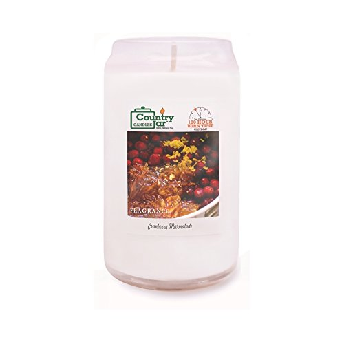 Country Jar Cranberry Marmalade Candle Soy Candle (14.5 oz. CAN-Jar) Spring Pick-3 Sale! See Details. ()