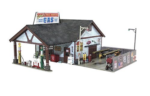 - Woodland Scenics WOOBR5849 O Built-Up Ethyl's Gas & Service