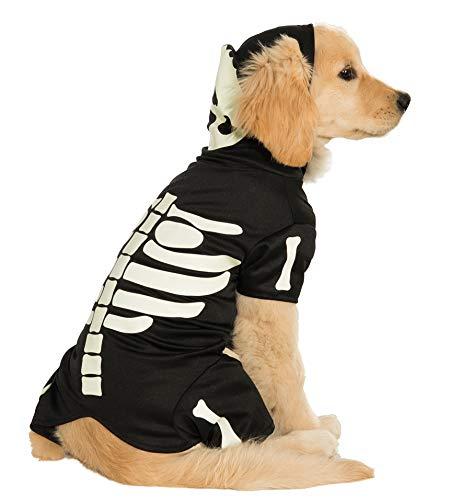 Rubie's Costume Co Glow-In-The-Dark Skeleton Hoodie Pet Costume, XXX-Large