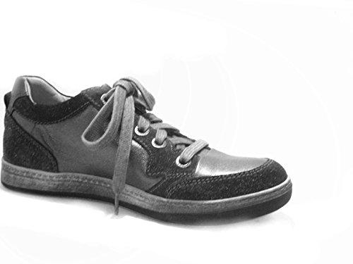 Zapatillas Giardini Para Piel Nero Mujer De Plomo FagSSvq