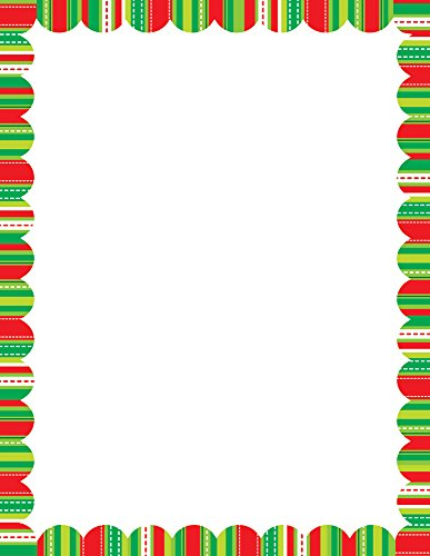 (Creative Teaching Press Holiday Stripes and Stitches Computer Paper (7121))