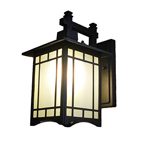 TOYM US European waterproof antique outdoor wall lamp Chinese corridor aisle outdoor wall hanging garden lights by Wall lamp 208