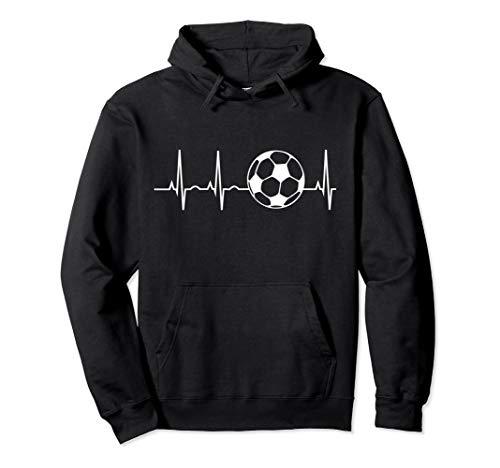 Soccer Heartbeat Shirt - Soccer Ball Heartbeat Hoodie