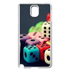 Game Dice Samsung Galaxy Note 3 Cell Phone Case White gift z004hm-2318165